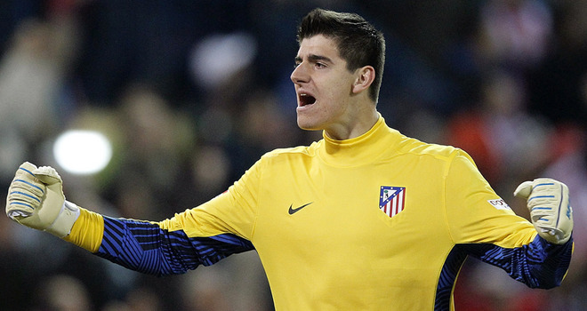 Chelsea's Courtois is determined to avoid backup role