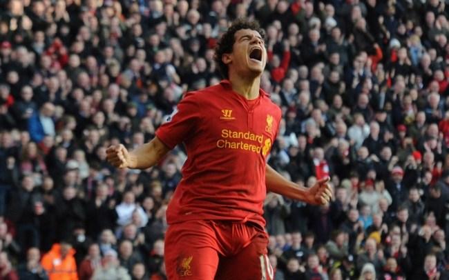 Liverpool Lucas Leiva praises rising star Coutinho