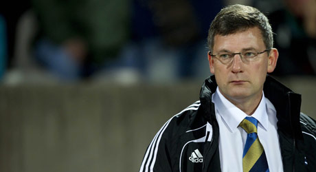 Scotland's boss Craig Levein is sacked