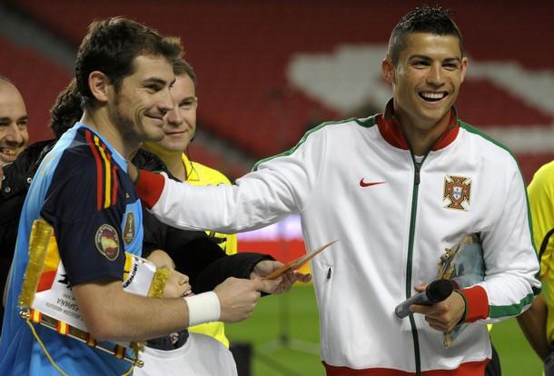 Икер Касильяс: Роналду заслужил «Золотой мяч»