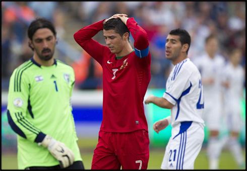 Чемпионат мира-2014. Сборная Израиля вырвала ничью в матче с командой Португалии
