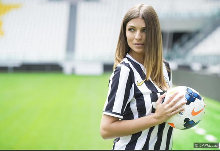 «Мисс Италия» будет работать на клубном канале «Ювентуса» (ФОТО)