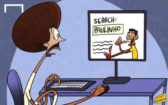 Лучшая карикатура дня. Ассу-Экотто все-таки узнал, кто такой Паулиньо