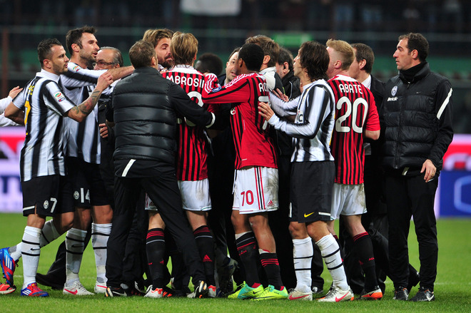 Итальянская Серия А. «Ювентус» — «Милан». Прогноз. «Зона невысокого напряжения»