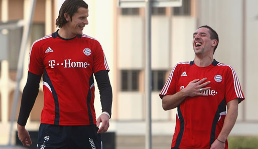 Ribery, Van Buyten signed new contracts with Bayern Munich