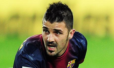 Tottenham edge closer to signing Barcelona Villa