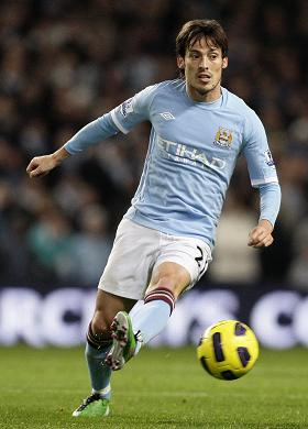 David Silva signed a five-year contract with Manchester City
