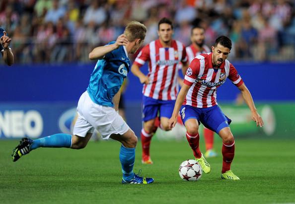 Лига чемпионов-2013/14. «Зенит» — «Атлетико». Онлайн-трансляция начнется в 21.00
