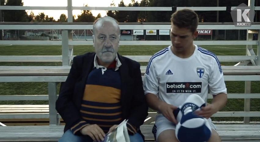 Лучшее видео дня. Превью к матчу против Испании от финских трикшотеров