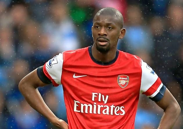 Arsenal Diaby out for eight months