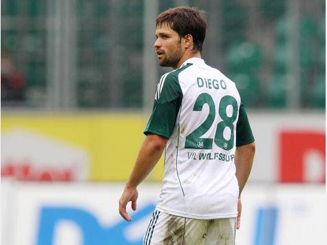 «Зенит» хочет купить полузащитника «Вольфсбурга» Диего