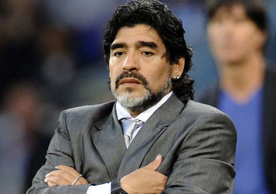 Maradona interested in Napoli job