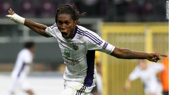 Liverpool, West Brom miss out on Anderlecht Mbokani, as he joins Dynamo Kiev