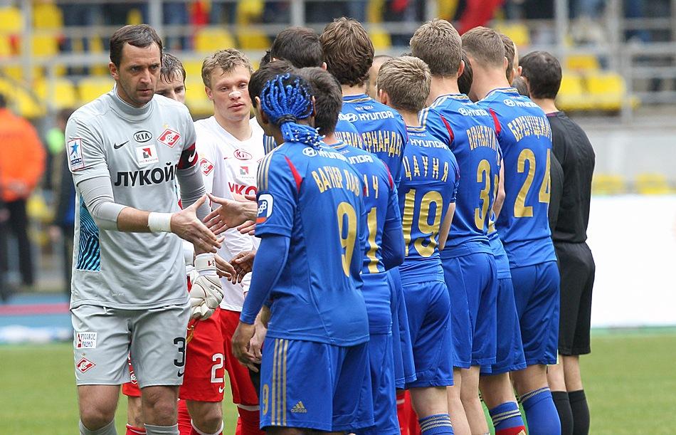 Топ-10 игроков чемпионата России в апреле