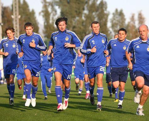 Игроки киевского «Динамо» работают без выходных
