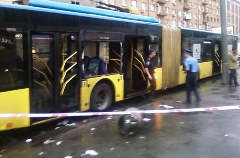 Драка в Киеве возле Лукьяновской
