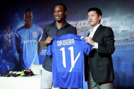 Drogba talks about challenge, not money