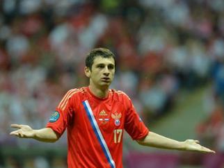 Дзагоев дисквалифицирован на 5 матчей Премьер-лиги