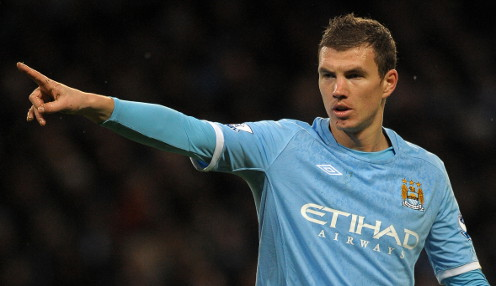 Dortmund eye switch for Man City Dzeko