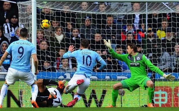 Английская Премьер-лига. «Ньюкасл» — «Манчестер Сити» — 0:2. Хроника событий