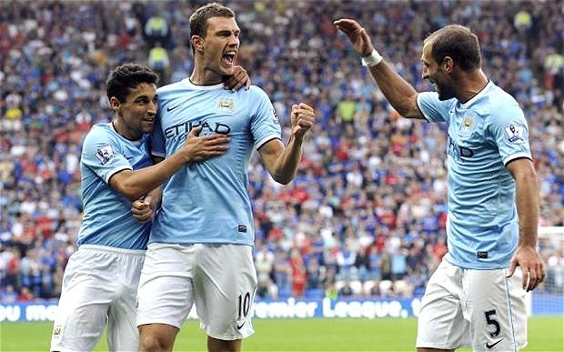 Английская Премьер-лига. 3-й тур. «Манчестер Сити» — «Халл Сити» — 2:0. Хроника событий