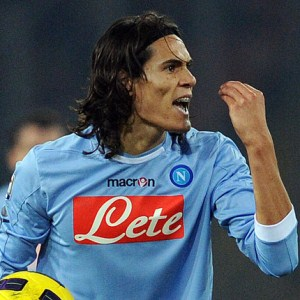 Napoli president: 'Cavani is not for sale, but we could let him go for €100m'.