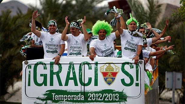 Испанская Ла лига. Возвращенцы