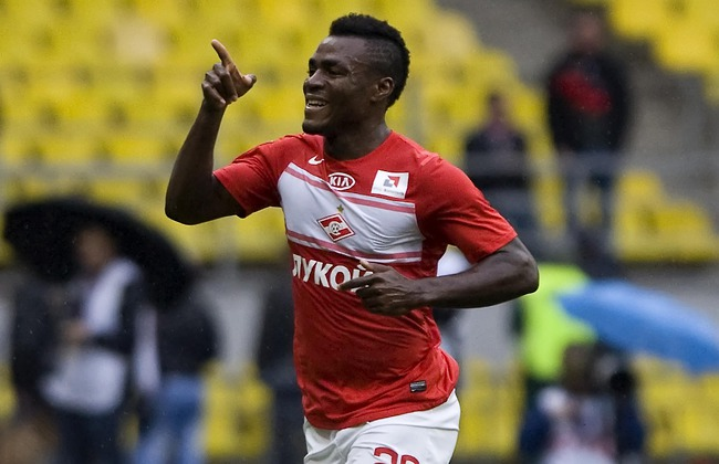Spartak Moscow Emenike dreams of England, plays down rumours of Liverpool move