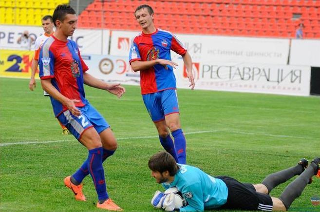 «Енисей» потерпел первое поражение в сезоне