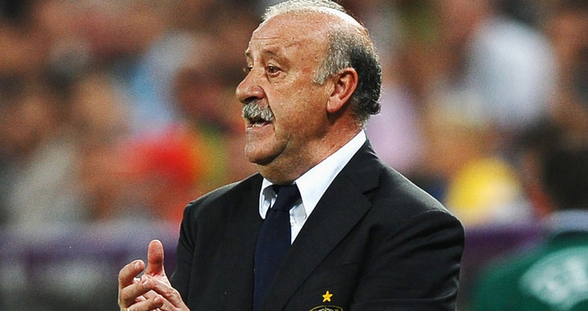 Del Bosque sets the record