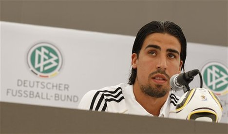 German players trust Löw says Khedira