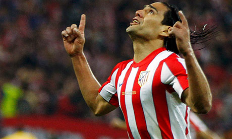 Radamel Falcao: 'I am physically well and keen to restart'
