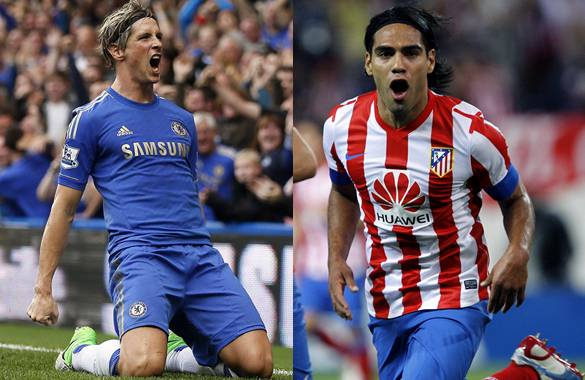 Atletico Madrid to swap Falcao for Chelsea Torres