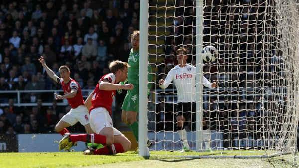 Английская Премьер-лига. 34-й тур. «Фулхэм» — «Арсенал» — 0:1. «С красным оттенком»