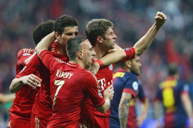 Champions League results: Bayern Munich 4-0 Barcelona