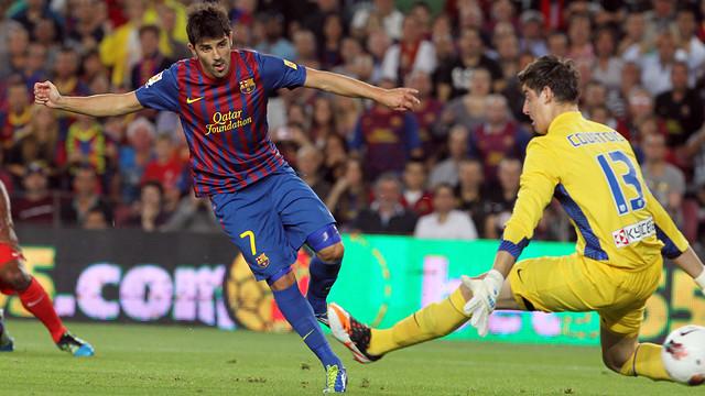 «Барселона» сообщила о переходе Вильи в «Атлетико»