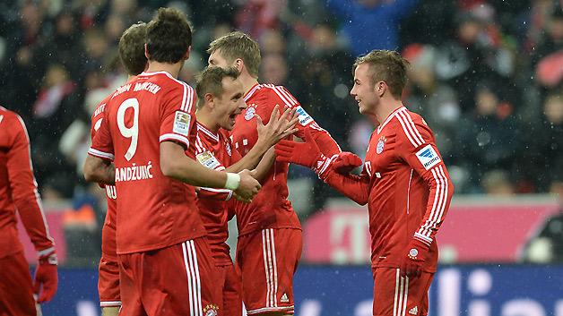 «Бавария» обыграла «Раджа Касабланка» и завоевала пятый трофей в сезоне