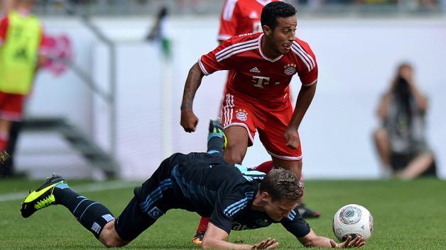 Немецкая Бундеслига. «Бавария» одолела «Гамбург», дортмундская «Боруссия» сыграла вничью с «Хоффенхаймом», и другие матчи