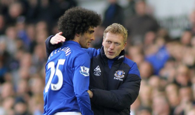 Fellaini believes Moyes can lead Everton to a top-four finish