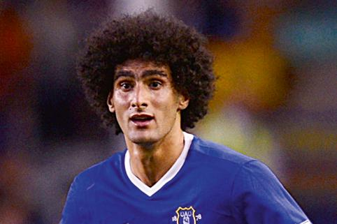 Chelsea to replace Lampard with Everton's Fellaini