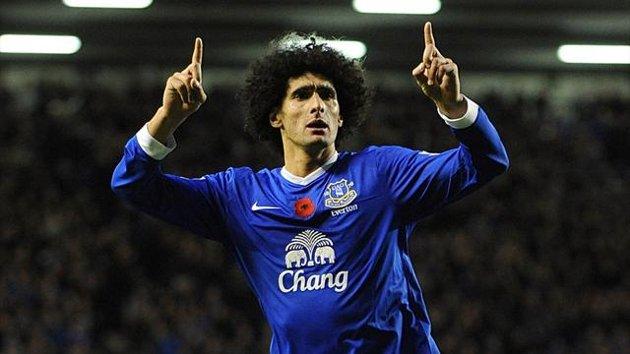 Fellaini injury worry for Everton