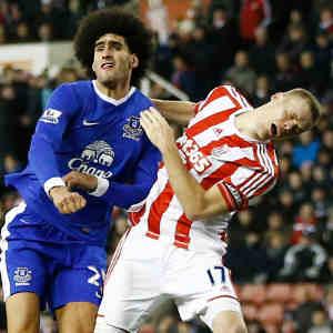 Fellaini faces 3-game ban for a headbutt