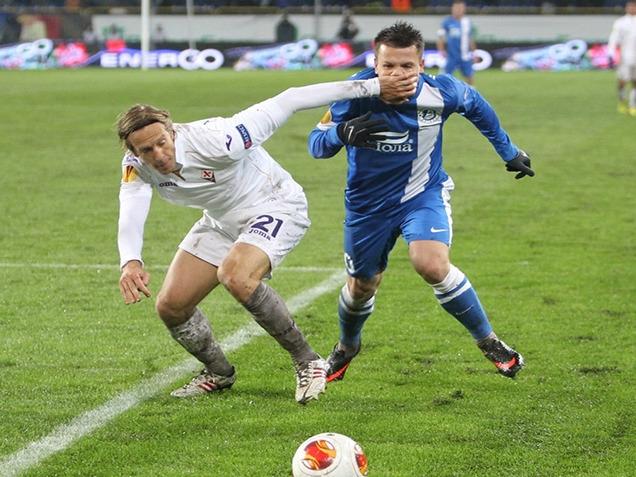 Лига Европы-2013/14. «Фиорентина» — «Днепр». Онлайн-трансляция начнется в 22.00