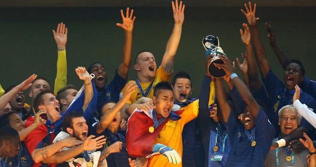Семь шагов к вершине, или Как молодежная сборная Франции выиграла чемпионат мира
