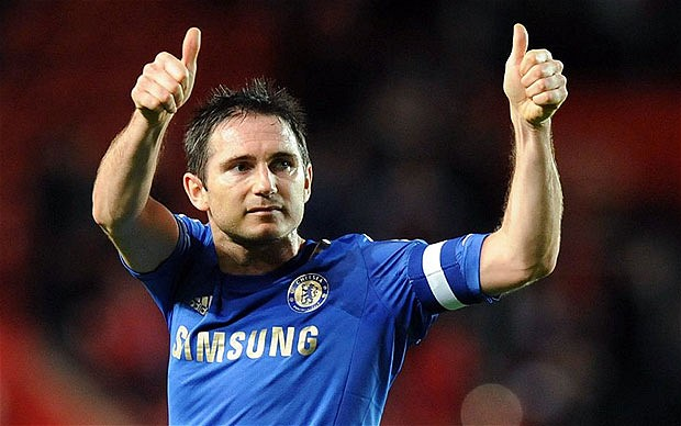 Lampard targets 100th appearance for England