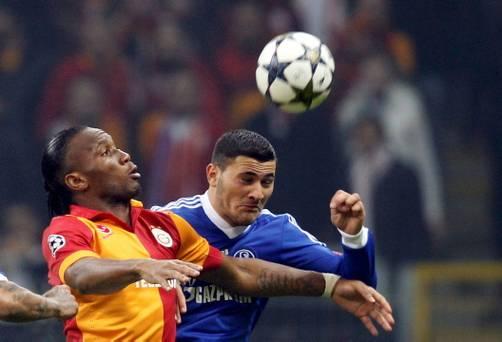 Champions League 2012/13. Resultados. Galatasaray y Schalke 04 al mismo nivel