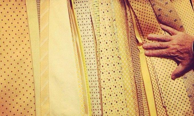 Фото дня. Коллекция галстуков Адриано Галлиани