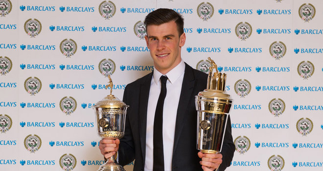 Gareth Bale won Player of Year award