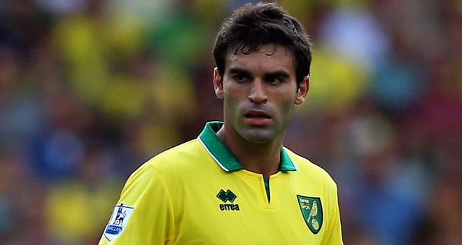 Norwich sign Javier Garrido