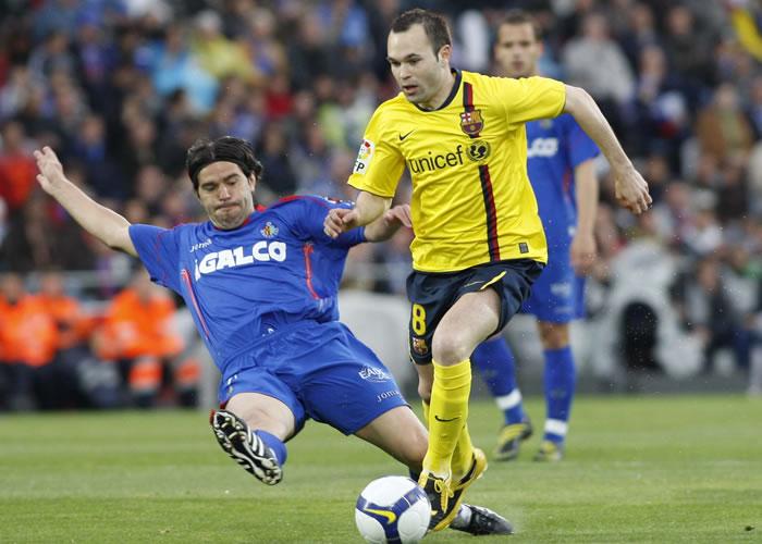 Испанская Ла лига. «Хетафе» — «Барселона». Онлайн-трансляция начнется в 20.00